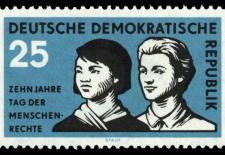 Stamps of Germany (DDR) 1958